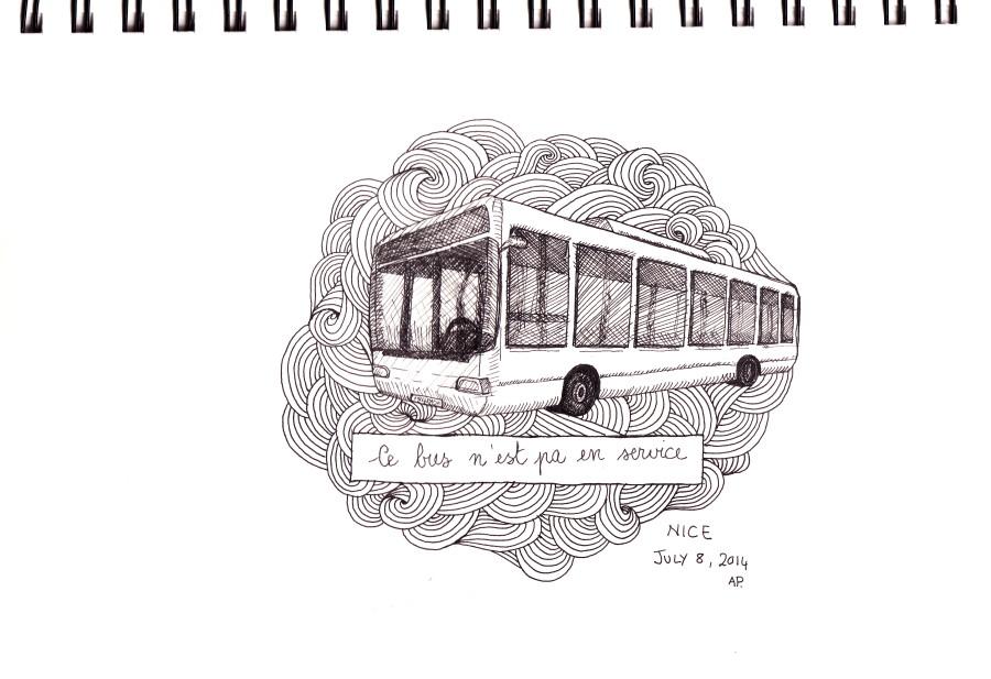 Ce bus n'est pa en service