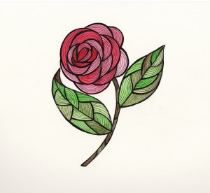 Rose 2 color