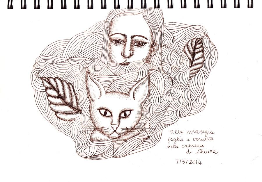 Tilla & Chiara July 5 2014